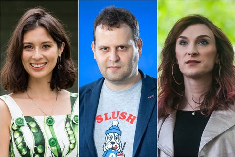 Jasmine Hemsley, Adam Kay and Juno Dawson