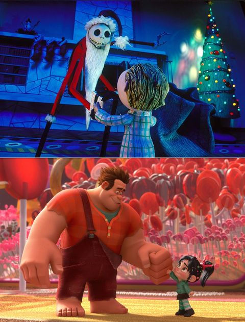 The Nightmare Before Christmas and Wreck-It Ralph