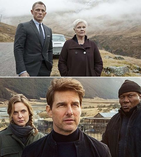 Skyfall and Mission: Impossible Fallout