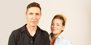 Paul McGann and Sheridan Smith recording Doctor Who for Big Finish