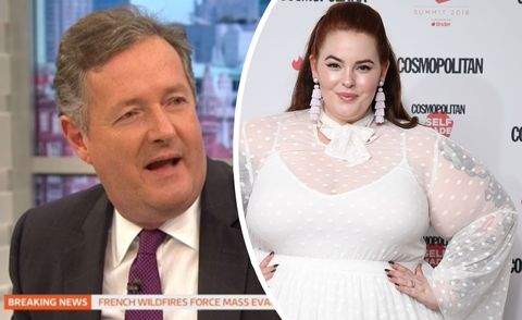 Plus size Cosmo model hits back after Piers Morgan criticises her cover shoot