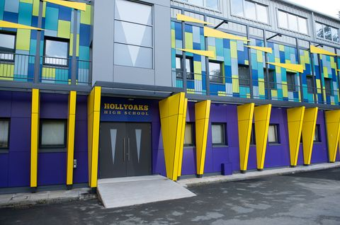 Hollyoaks High's new look
