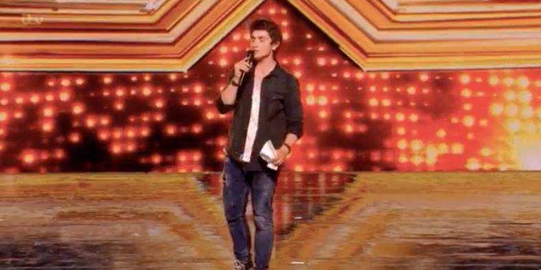 The X Factor - paper drop