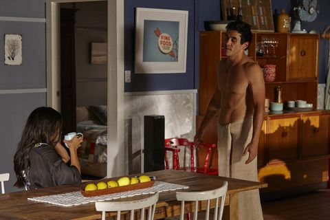 Justin Morgan and Willow Harris talk about the Dean situation in Home and Away