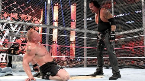 WWE Hell in a Cell: Brock Lesnar vs The Undertaker