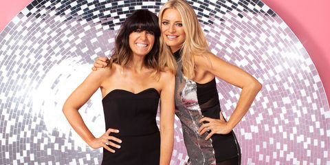 Tess Daly Strictly Curse