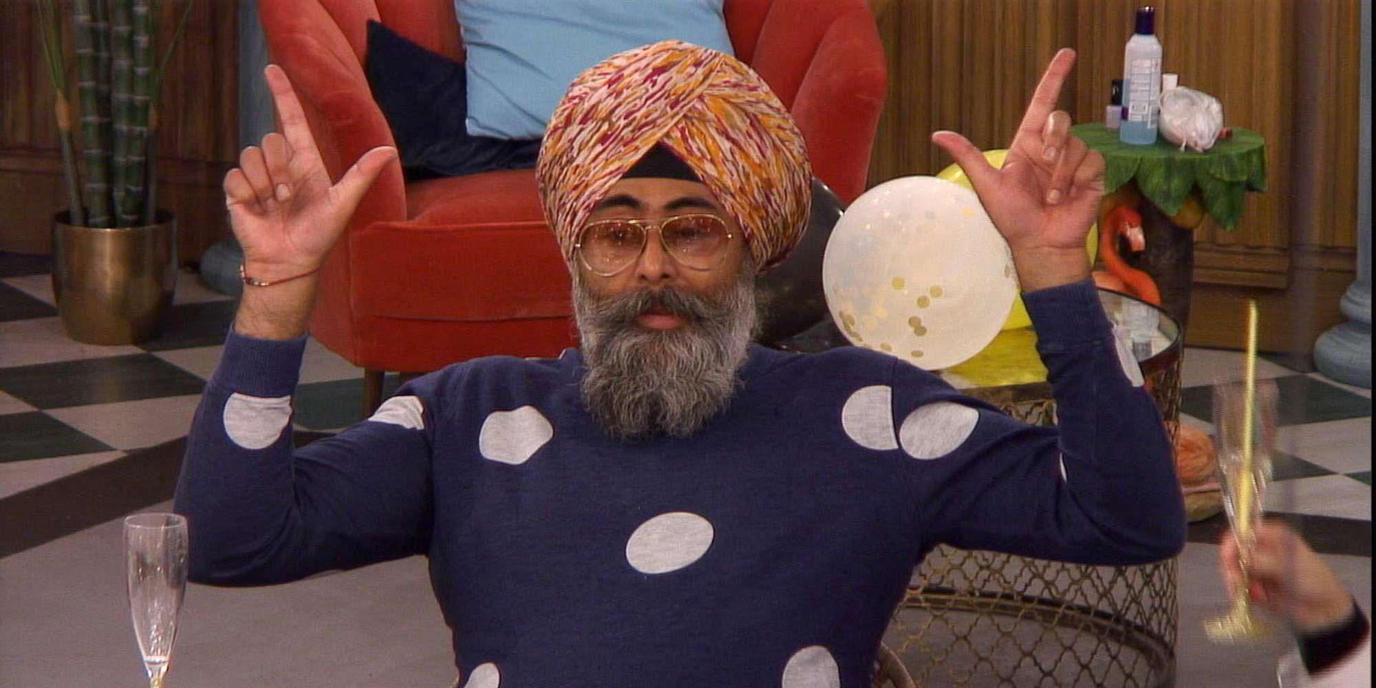 Hardeep Singh Kohli, Celebrity Big Brother 2018, Day 19