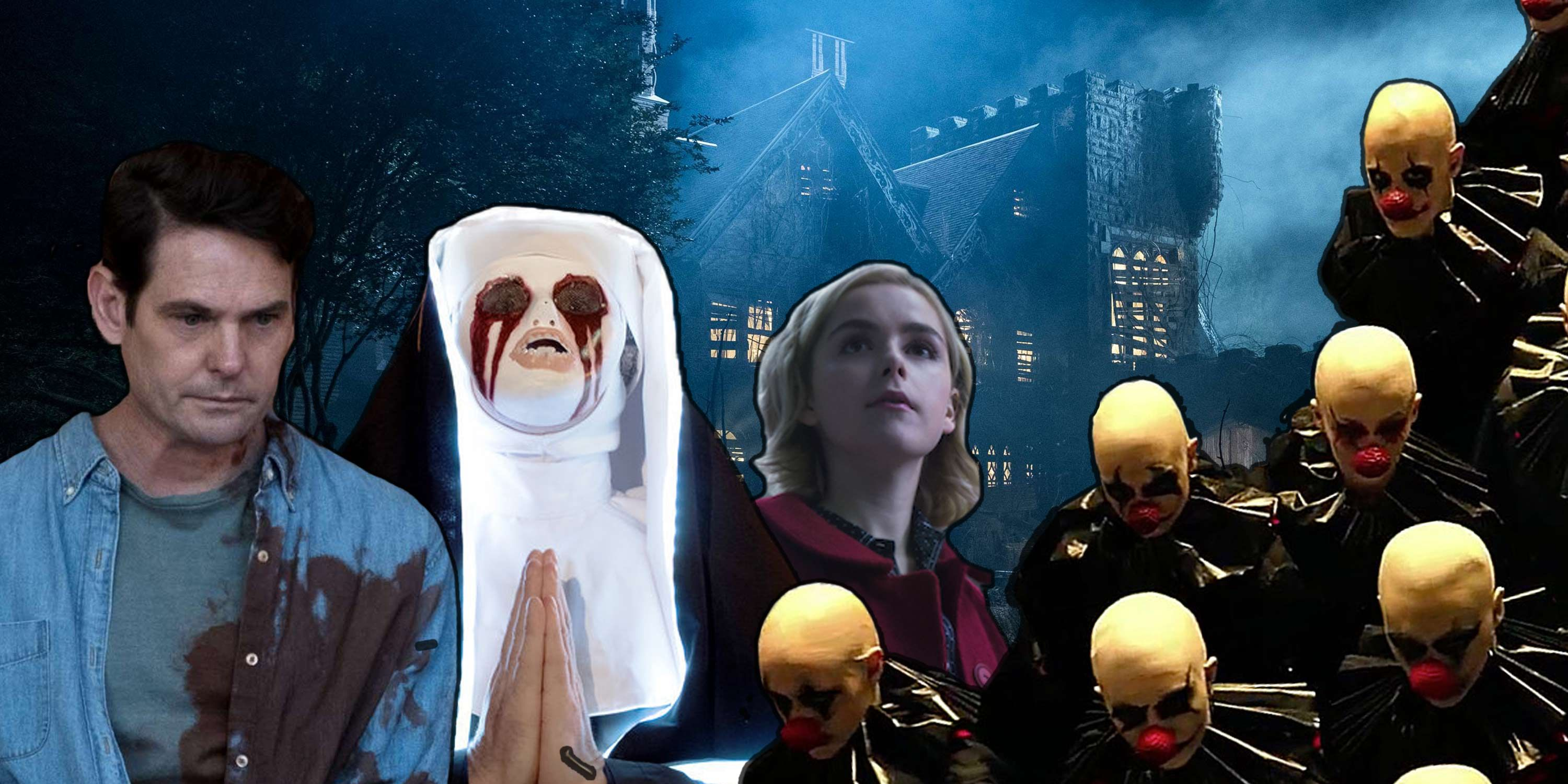 Sabrina, The Haunting Hill House, American Horror Story, The Purge, Hallowen