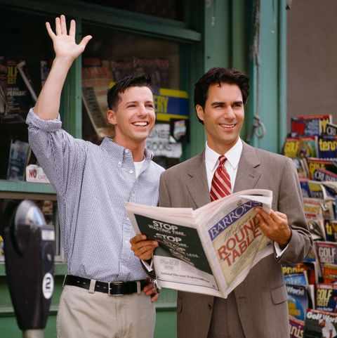 eric mccormack, sean hayes, will and grace