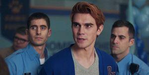 KJ Apa, Archie Andrews, Riverdale, Season 2 finale