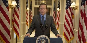 Kiefer Sutherland in Designated Survivor, season two