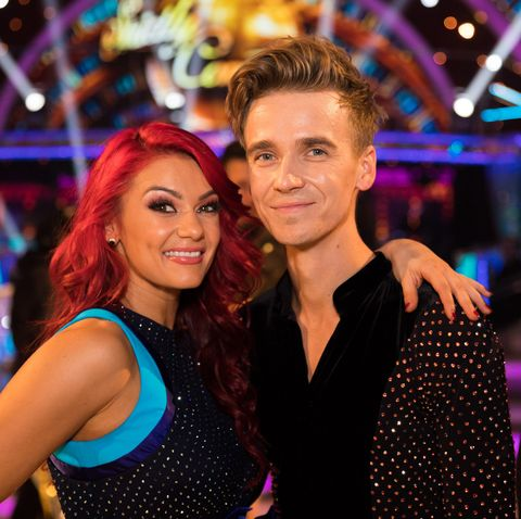 Joe Sugg shares sweet message Dianne Buswell