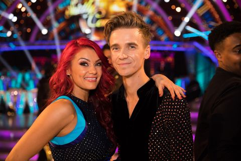 strictly come dancing 2018 couples  joe sugg and dianne buswell
