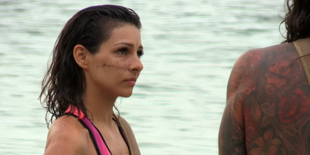 Roxanne Pallet - Celebrity Island with Bear Grylls