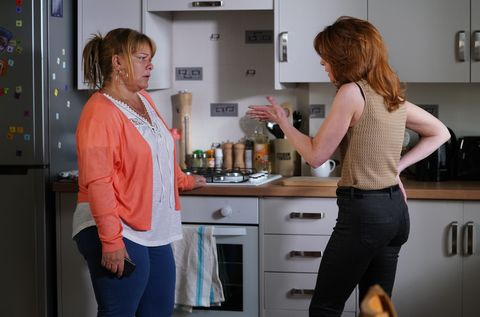Sophie comes to see Carmel Kazemi again in EastEnders