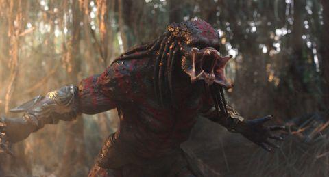 The Predator alternate endings featured two major Alien characters