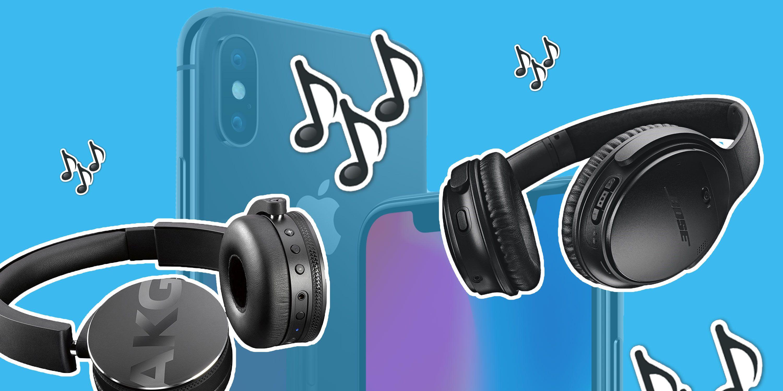 PHOTOSHOP, Apple iPhone XS headphones