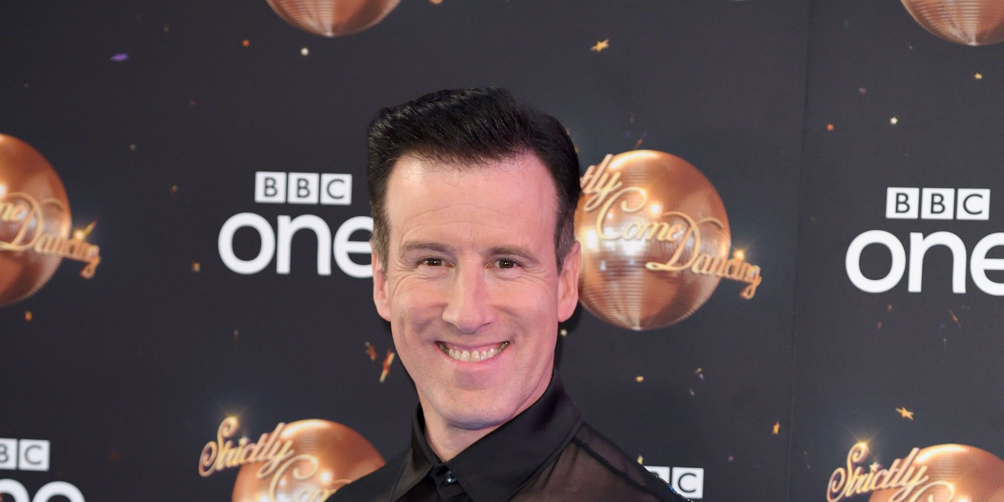 Anton Du Beke attends the red carpet launch for Strictly Come Dancing 2018