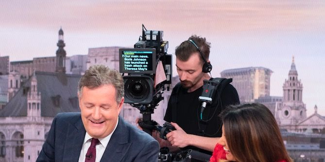 We go behind the scenes at Good Morning Britain