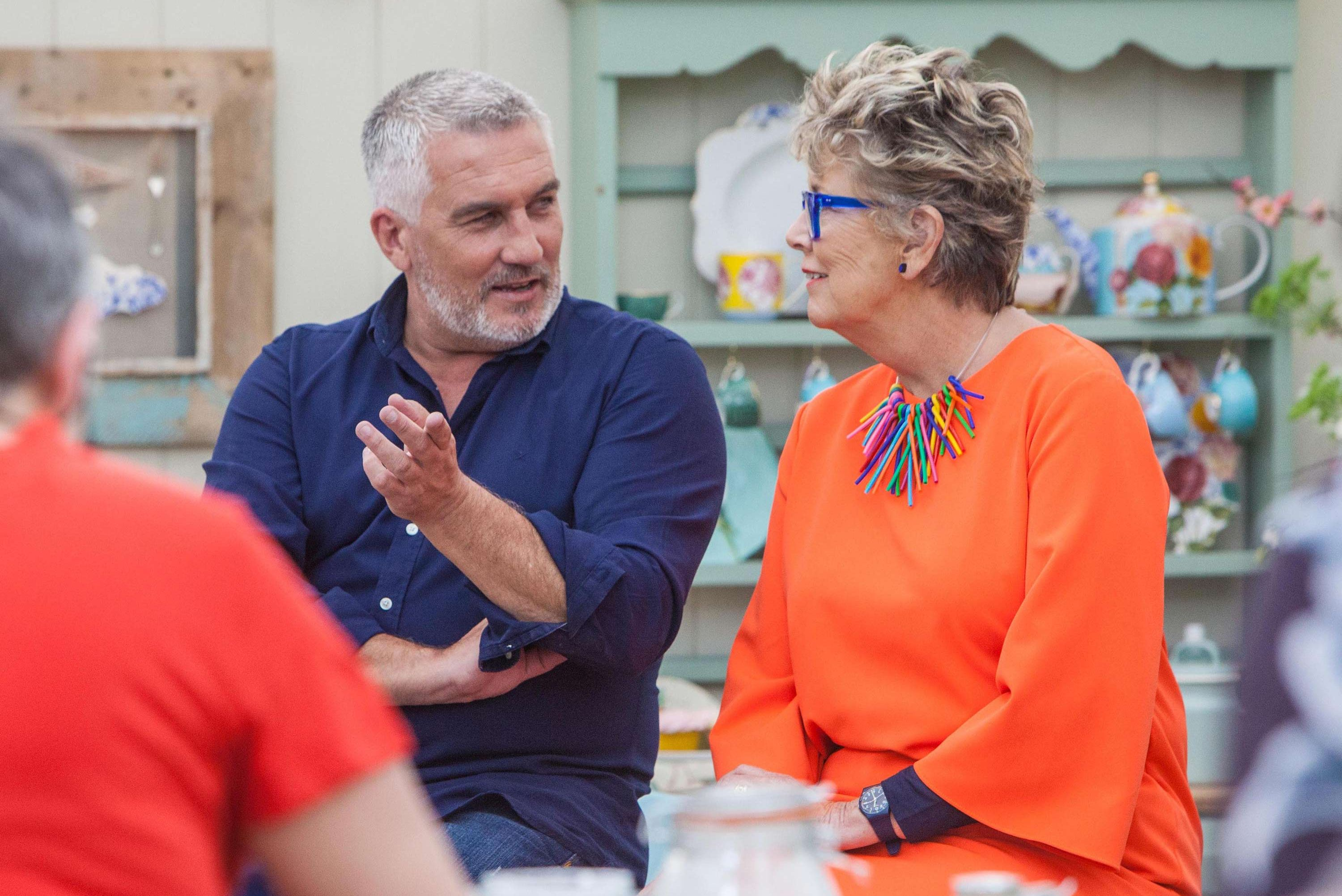 Paul Hollywood, Prue Leith, The Great British Bake Off 2018, GBBO