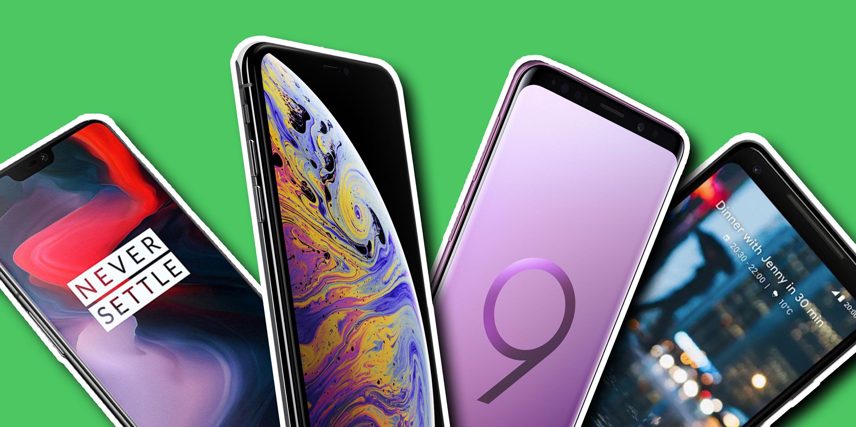 PHOTOSHOP, Smart phones, OnePlus 6, iPhone XS, Samsung Galaxy S9, Google Pixel 2