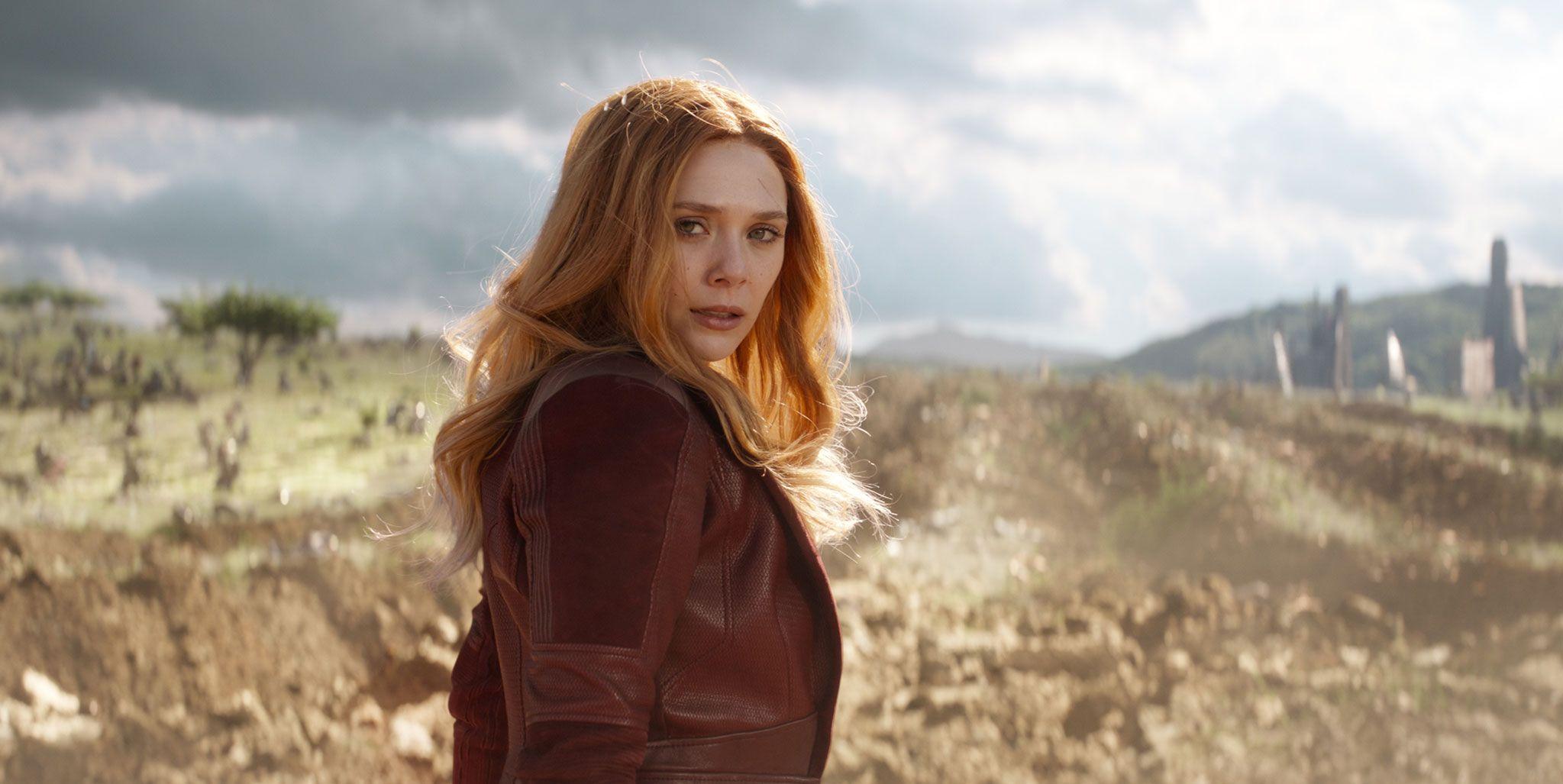 Avengers Infinity War, Scarlett Witch, Elizabeth Olsen
