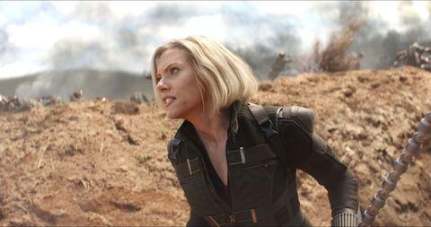 Avengers Infinity War, Black Widow, Scarlett Johansson