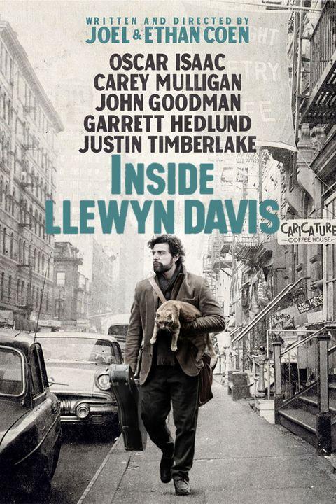 Inside Llewyn Davis poster Oscar Isaac