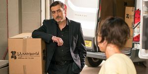 Peter Barlow opposes Vicky's appointment in Coronation Street