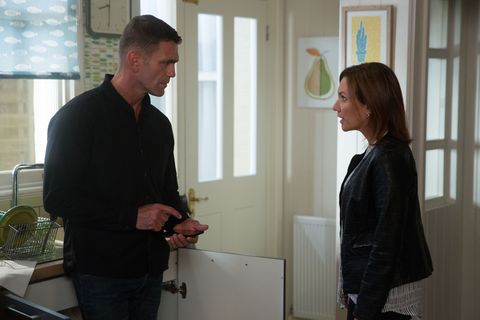 Jack Branning calls round to Mel's with Rainie in EastEnders
