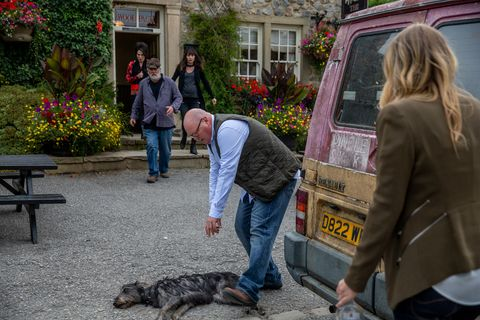 Charity Dingle accidentally injures Monty in Emmerdale