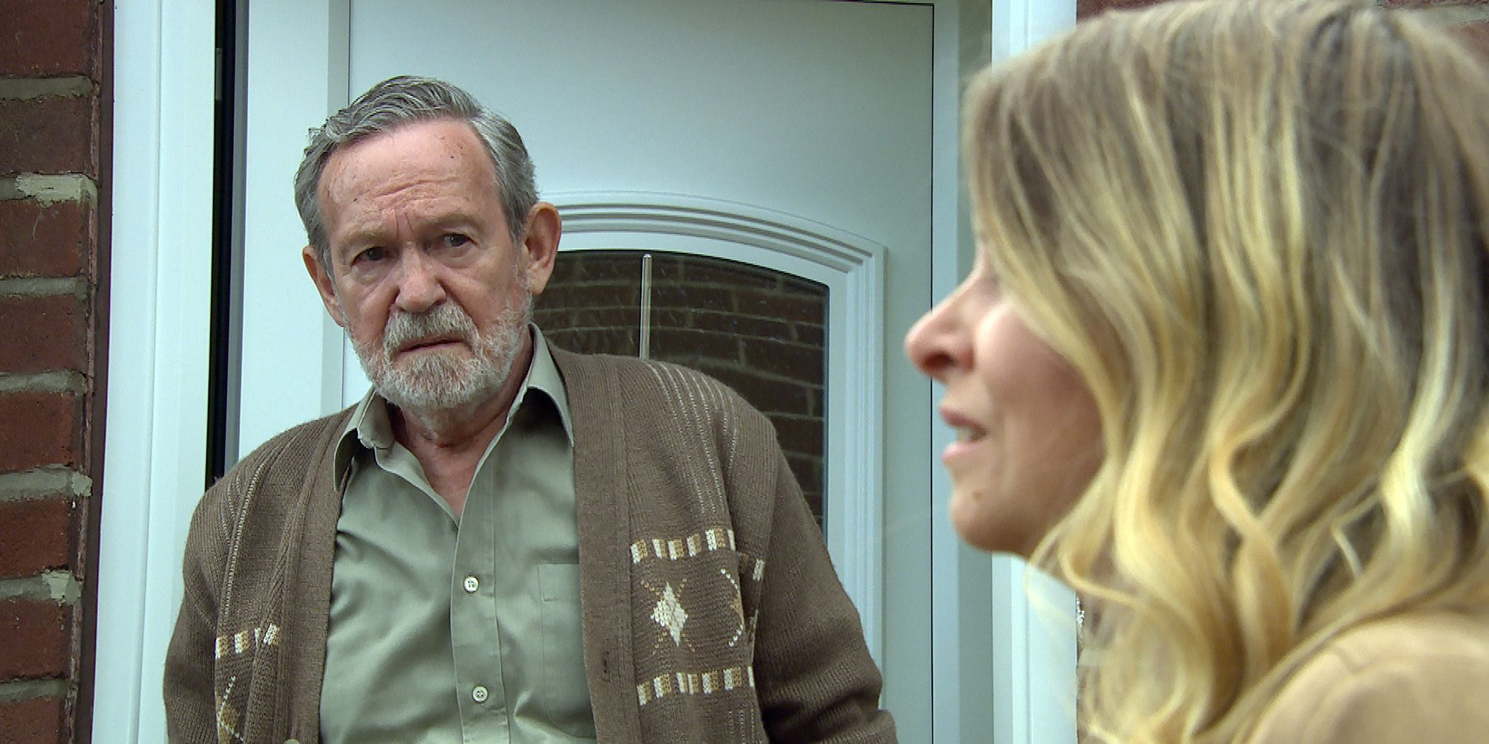 Charity Dingle meets her father Obadiah in Emmerdale