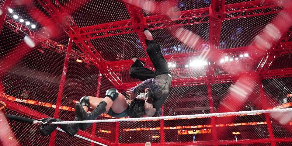 Hell In A Cell 2021 Matches