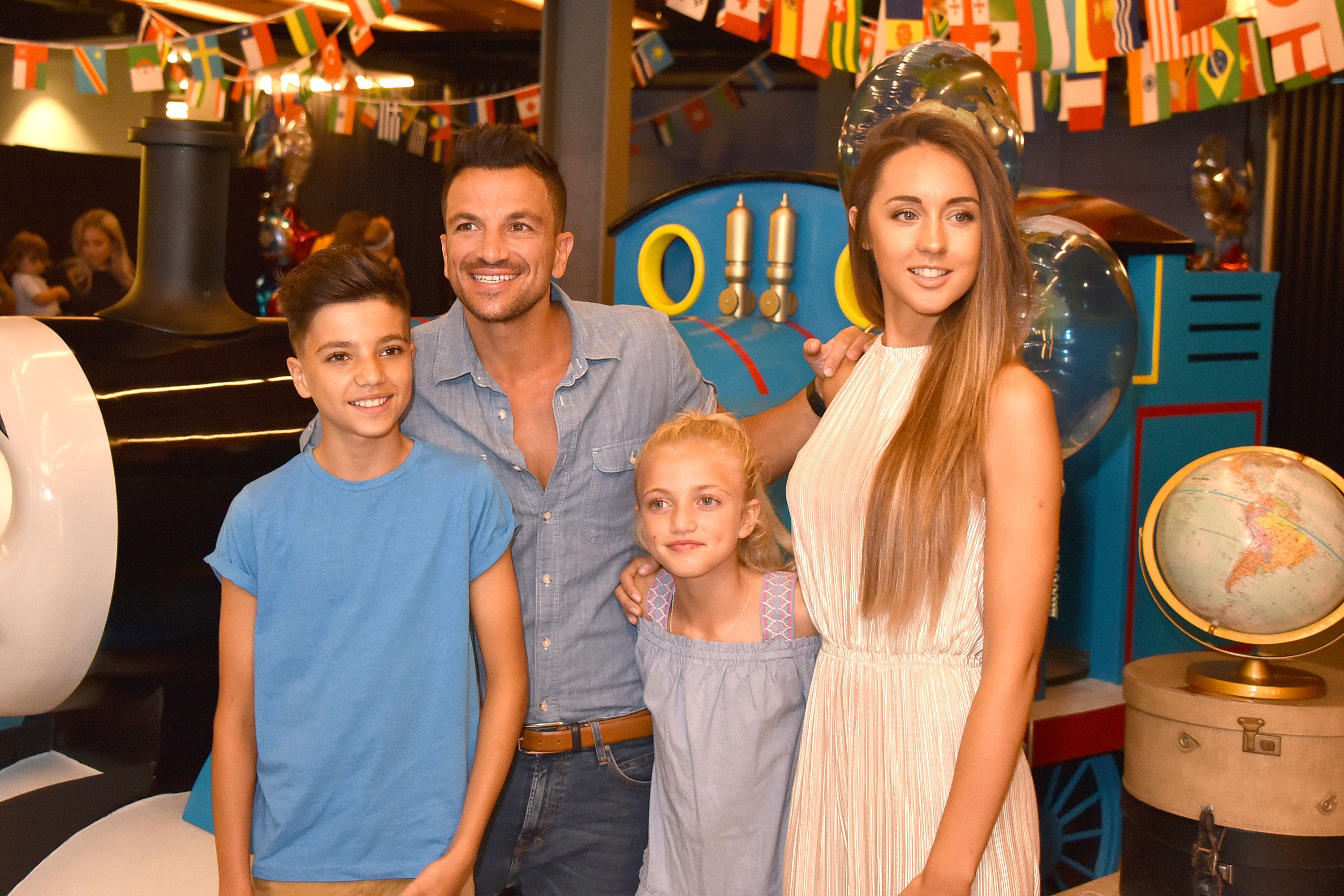 Peter Andre Wants To Protect His Children Junior And Princess From Negativity