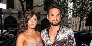 Gareth Gates, Faye Brookes pictured in June 2018