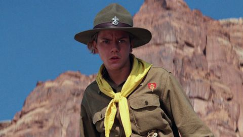 river phoenix in indiana jones  the last crusade