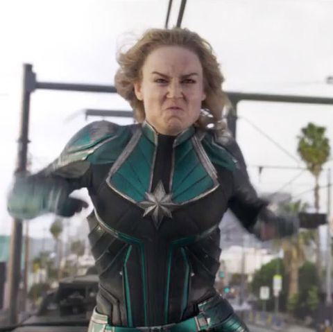 Captain Marvel is already under attack by sexist trolls on Rotten Tomatoes