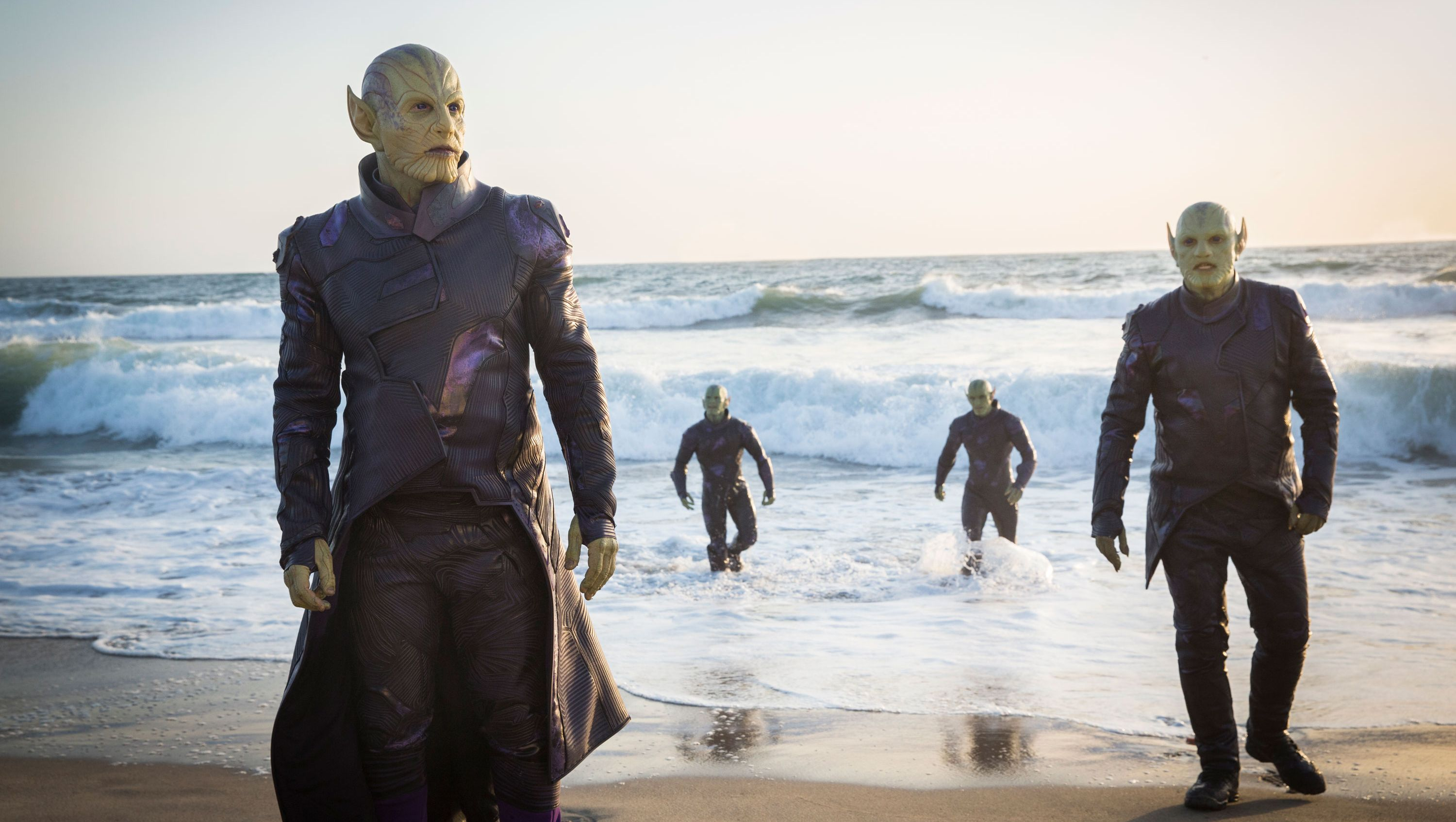 Who are Marvel's Skrulls and what has Captain Marvel got to do with them?