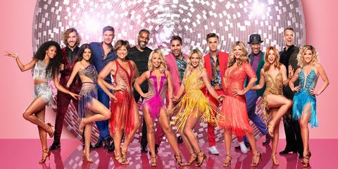 2b9ea562b2d92c Strictly Come Dancing 2018 contestants reveal their glittery costumes for  the new series