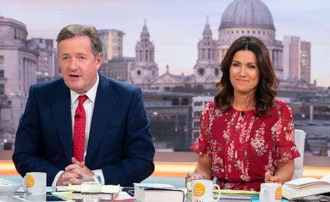Good Morning Britain's Piers Morgan and Susanna Reid have filmed The Chase celebrity special