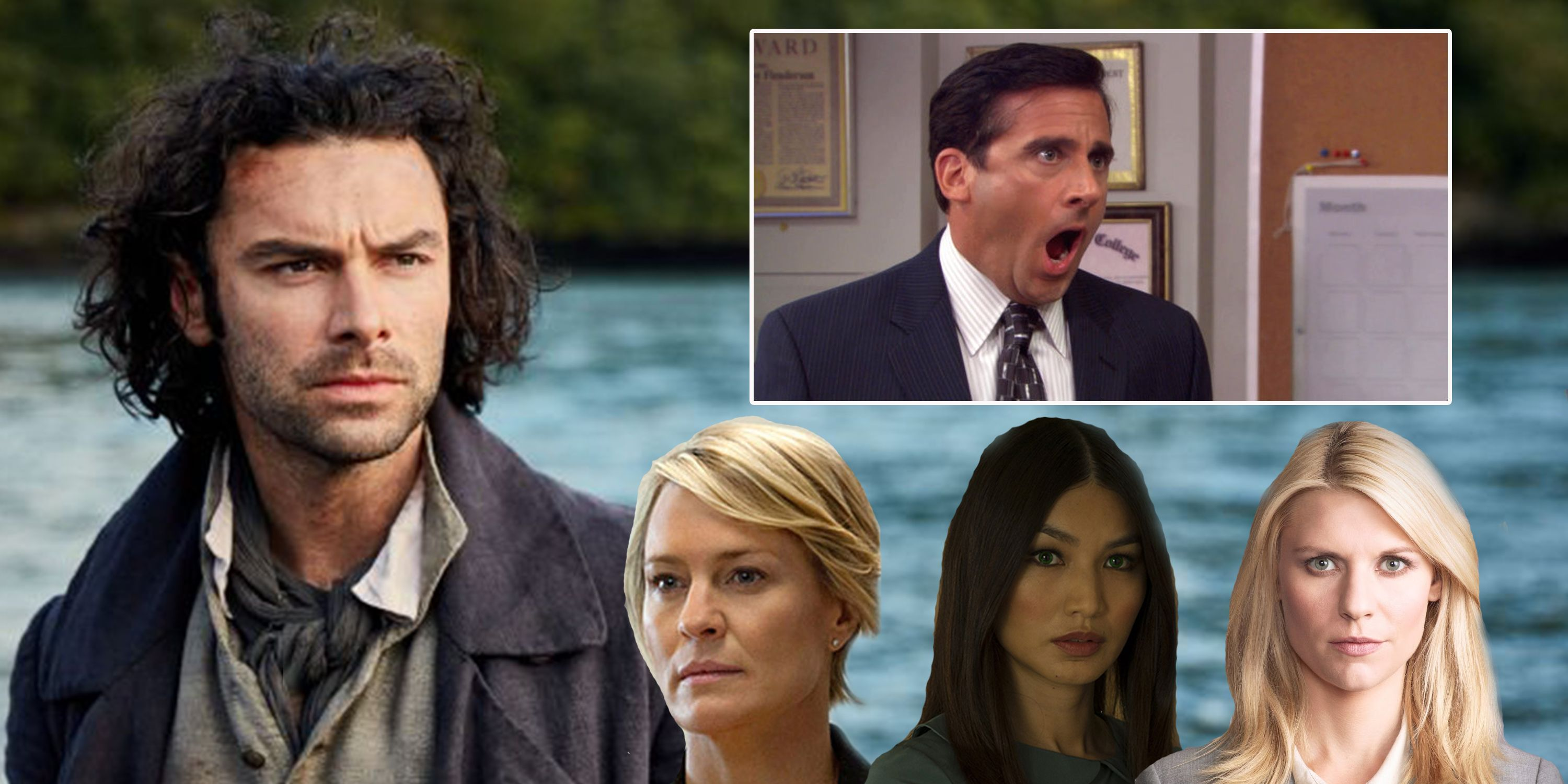 TV, remakes, Poldark, The Office US, Humans, House of Cards, Homeland