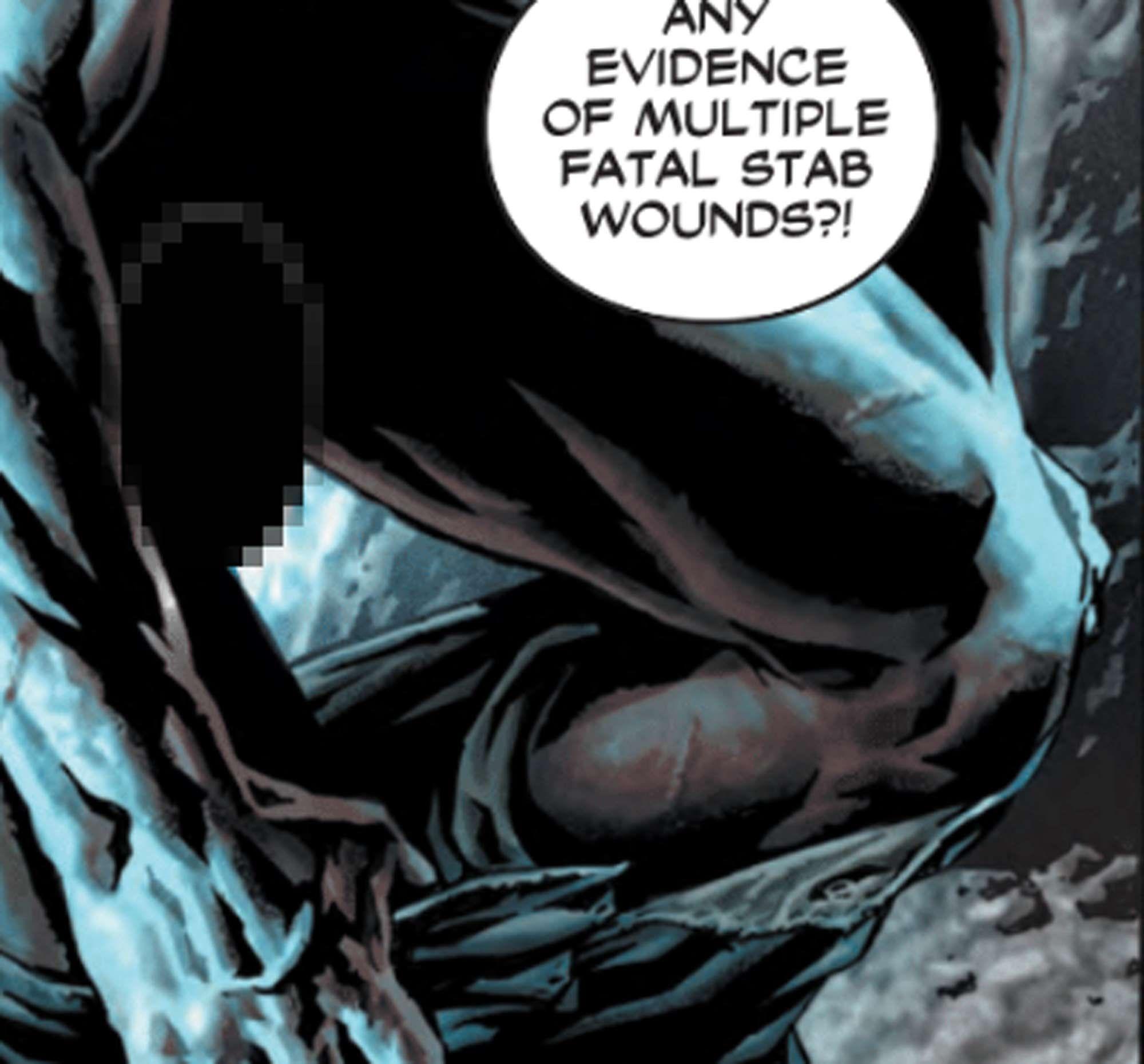 New batman comic