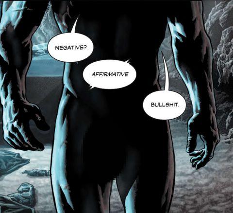 New Batman comic shows off Bruce Wayne's penis  Yes really