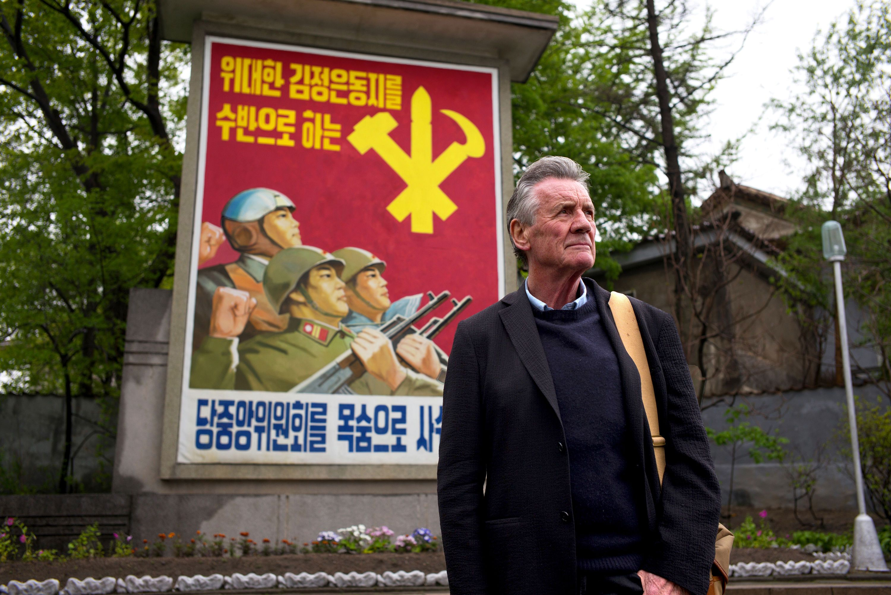 Michael Palin Called The Master Of The Travel Show But Viewers Question If We Re Getting Full Story On North Korea