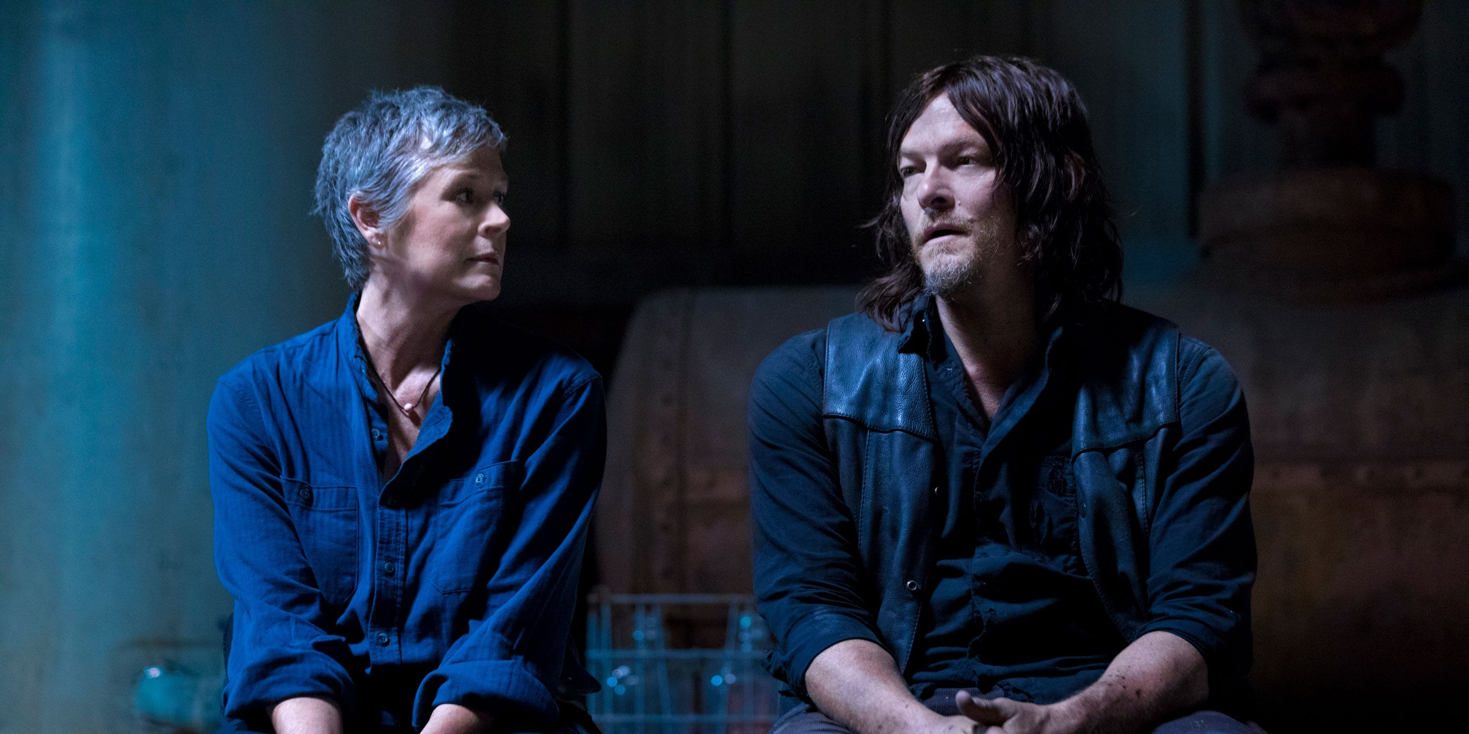 The Walking Dead, Carol, Daryl, season 9 episode 1, Melissa McBride, Norman Reedus