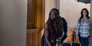 The Walking Dead, Michonne, season 9 episode 1, Danai Gurira