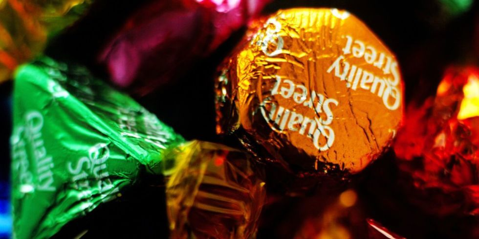 Revealed! Why there are fewer green triangles in Quality Street tubs