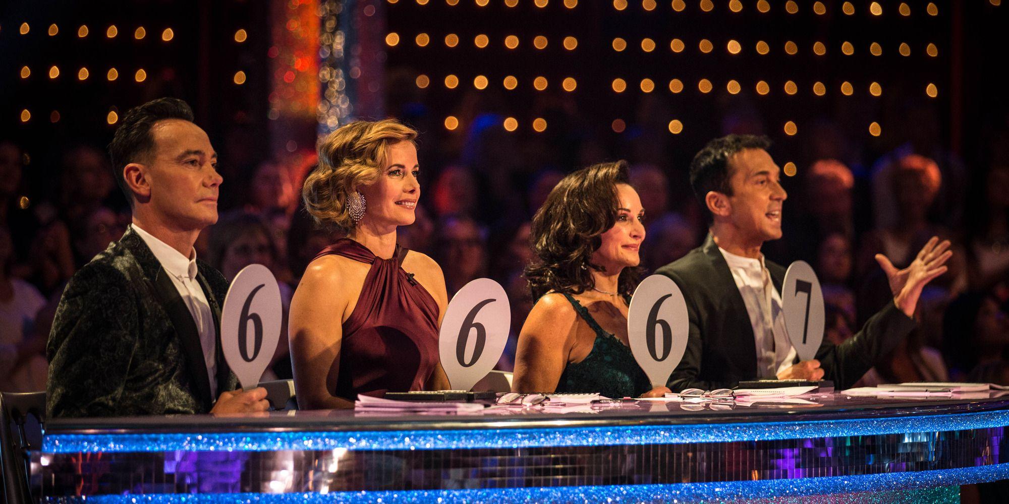 Strictly Come Dancing judges 2018 week 1