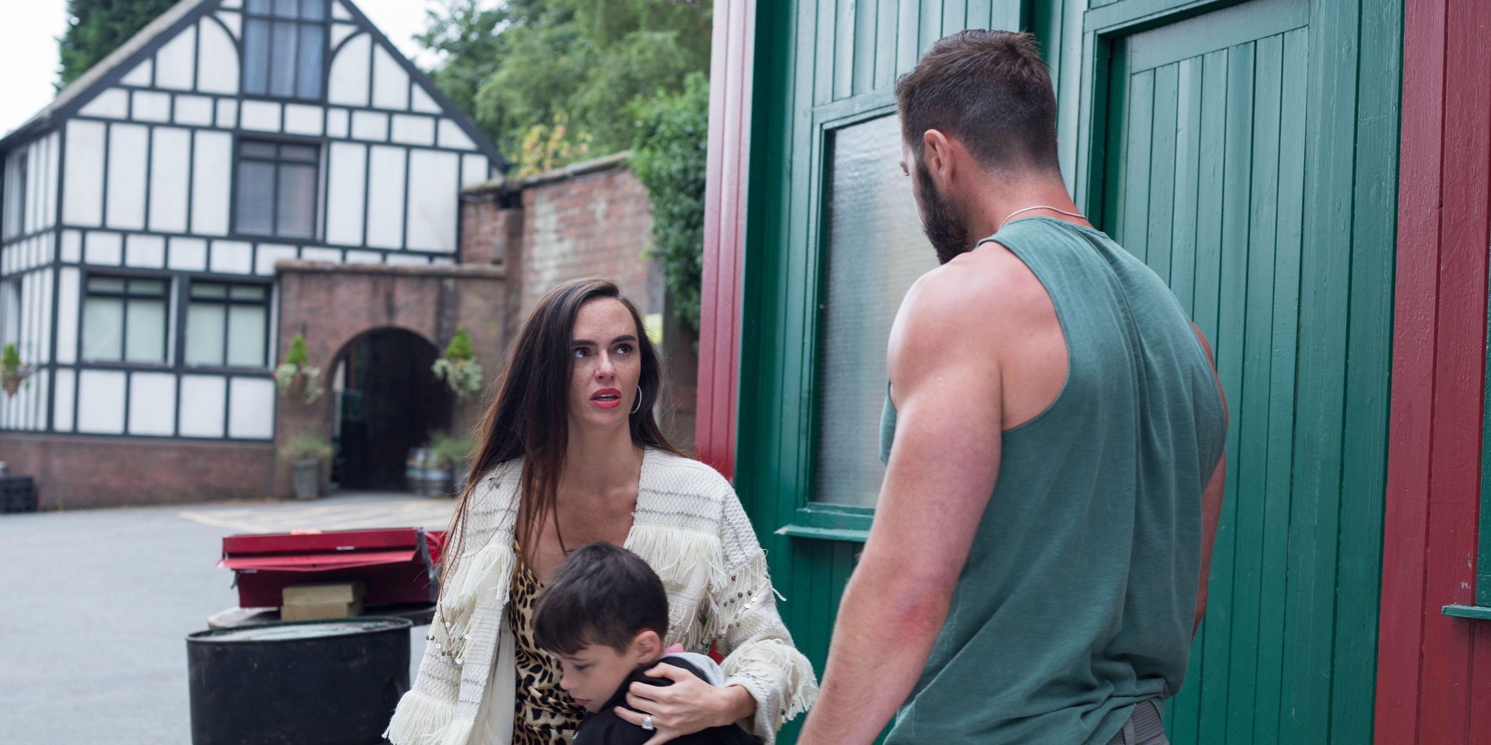Sylver McQueen helps Bobby but annoys Mercedes in Hollyoaks