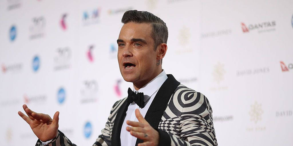 Robbie Williams has released a Covid-themed Christmas song called Can't Stop Christmas